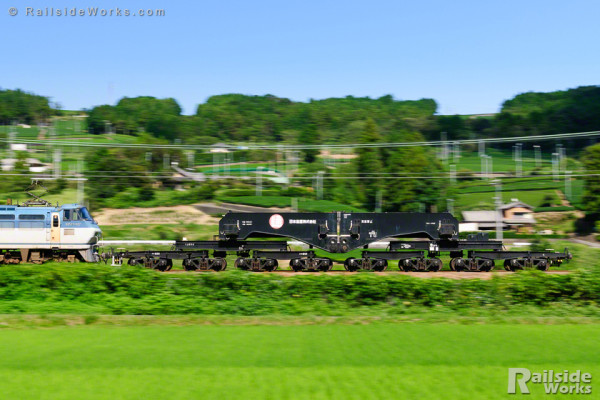 シキ801B1、茶処・静岡を駆ける