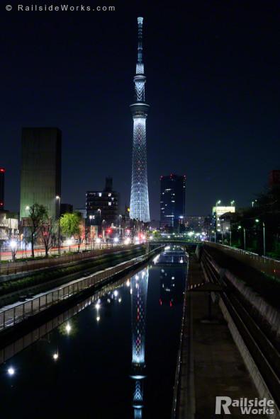 東京スカイツリー「新年特別ライティング」