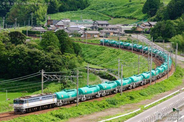 緑タキ25車、東海道を下る