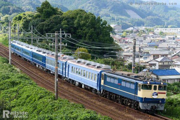 JR四国12・14系客車、東武鉄道へ向けて甲種輸送②
