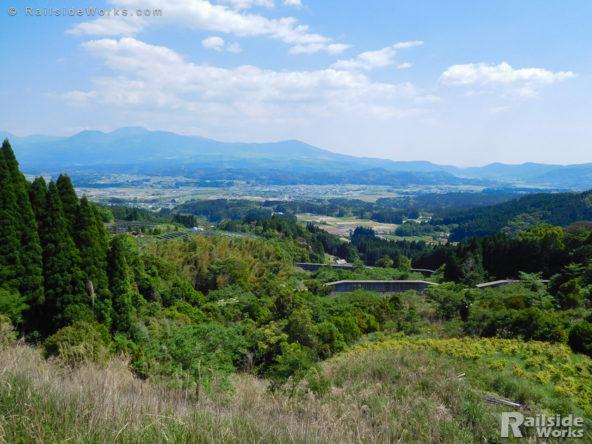 矢岳の峠にて
