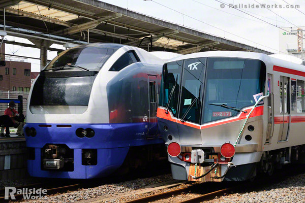 TX-2000系×E653系フレッシュひたち