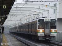 大垣車両区211系C編成、静岡車両区への転属回送①