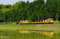 ロンキヤ、3両編成で飯田線を下る