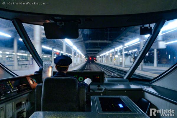 ホームライナー静岡3号、終点静岡駅入線!